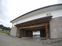 Kanazawa castle. The gate of Kanazawa castle, Japan royalty free stock photography