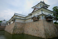 Kanazawa castle, Japan Royalty Free Stock Image