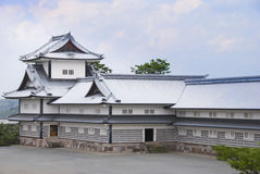 Kanazawa castle, Japan. Royalty Free Stock Photos