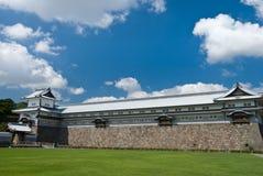 Kanazawa castle, Japan Stock Photo