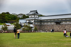 Kanazawa castle Royalty Free Stock Photo