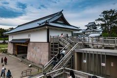 Kanazawa castle Stock Photography