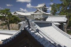 Kanazawa castle, Japan royalty free stock photography