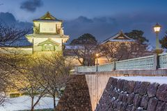 Kanazawa Castle Japan stock images