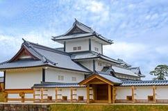 Kanazawa Castle in Spring Stock Image