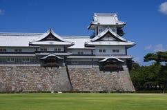 Kanazawa castle tower, Japan stock photography