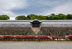 Kanazawa castle. Wall of Kanazawa castle. Kanazawa Castle is a large, well-restored castle in Kanazawa, Ishikawa Prefecture, Japan royalty free stock photos