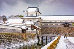 Kanazawa, Japan Castle Stock Photo
