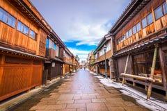 Kanazawa, Japan Historic District Royalty Free Stock Photos
