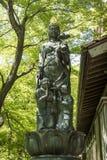 Kanazawa - Japan, am 11. Juni 2017: Bodhisattva Hakuju Kanzenon sta Lizenzfreie Stockfotografie