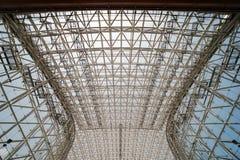 Kanazawa Japan - Maj 12, 2017: Den Glass kupolen av Kanazawa JR s Royaltyfri Fotografi