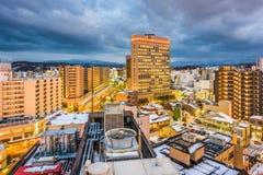 Kanazawa, Japan Skyline Stock Photo