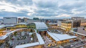 Kanazawa Japan Skyline stock video