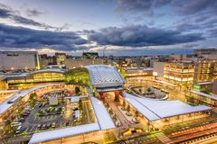 Kanazawa Japan Skyline. Kanazawa, Japan skyline over the station royalty free stock photo