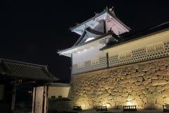 Kanazawa Japanese castle Stock Images