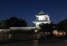 Kanazawa Japanese castle Royalty Free Stock Photo