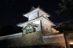 Kanazawa Japanese castle Stock Photo
