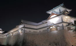 Kanazawa Japanese castle Stock Photos