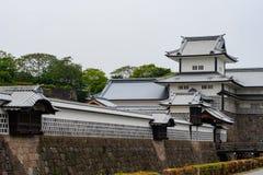 Kanazawa kasztel Zdjęcie Royalty Free