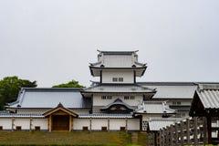 Kanazawa kasztel Obraz Royalty Free