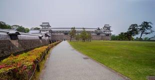 Kanazawa kasztel Zdjęcie Stock