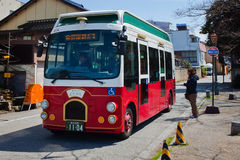 Kanazawa Loop Bus Royalty Free Stock Photography