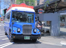 Kanazawa Loop bus Japan Royalty Free Stock Photos