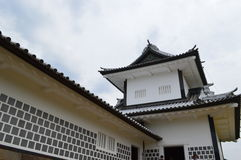 Kanazawa-Schloss Lizenzfreies Stockfoto