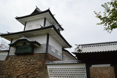 Kanazawa-Schloss Lizenzfreie Stockfotografie