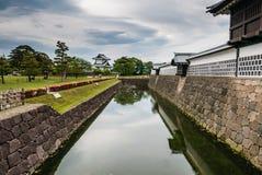 Kanazawa-Schloss Stockfotos