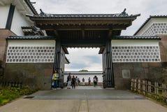 Kanazawa slott Arkivbilder