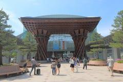 Kanazawa station Japan Stock Images