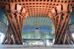Kanazawa Station modern architecture Japan Stock Photo