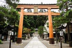Kanazawa-Tempel Stockfotografie