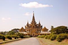 Kanbawza Thadi Palace, Bago, Myanmar Royalty Free Stock Image