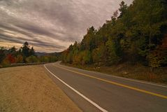 Kancamagus Highway Royalty Free Stock Photography