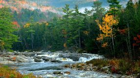 Kancamagus Highway - North Conway, NH by Eric L. Johnson Photography Royalty Free Stock Photo
