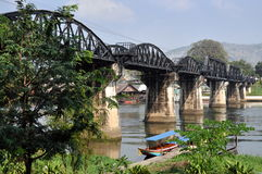 Kanchaburi, Thailand: River Kwai Bridge Stock Photography