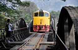 Kanchaburi, Thailand: River Kwai Bridge royalty free stock photos