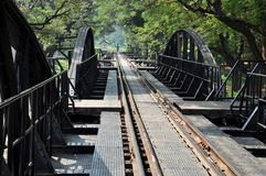 Kanchaburi, Thailand: River Kwai Bridge Royalty Free Stock Images