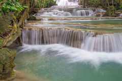 Kanchanaburi瀑布 免版税库存图片