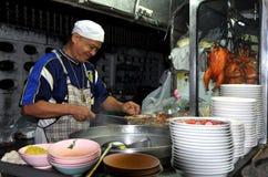 kanchanaburi еды шеф-повара подготовляя Таиланд Стоковое фото RF