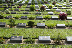Kanchanaburi Cemetery Stock Images