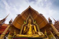 Kanchanaburi de sua de tham de Wat Photographie stock
