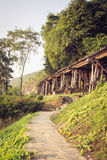 Kanchanaburi del puente ferroviario tailandia Imagen de archivo libre de regalías