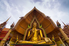 Kanchanaburi di sua del tham di Wat Fotografia Stock