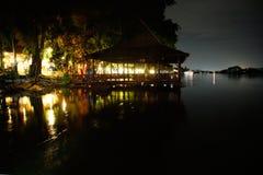 Kanchanaburi in the night Royalty Free Stock Images