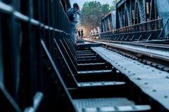Kanchanaburi Railway, Thailand Stock Image