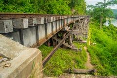 Kanchanaburi railway. From World war II Royalty Free Stock Photos