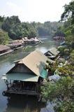Kanchanaburi Riverhouses Stock Image